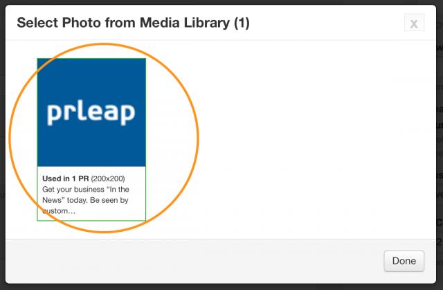 PRLeap Media Library